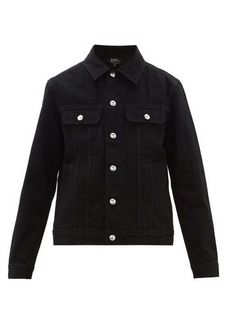 A.P.C. Classic cotton-denim workers jacket