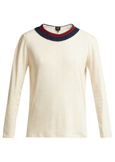 A.P.C. Colombe frill knit sweater