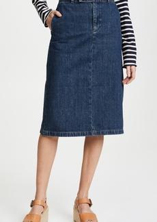 A.P.C. Constance Denim Skirt