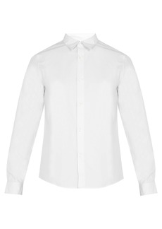 A.P.C. Cotton-poplin shirt