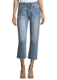 A.P.C. Cropped Denim Jeans