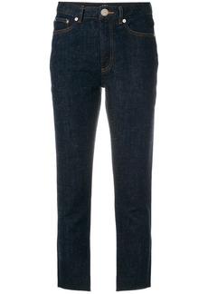 A.P.C. cropped jeans - Blue