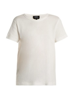 A.P.C. Daniela cotton-blend T-shirt