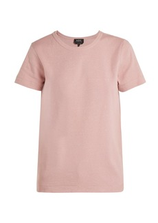 A.P.C. Daniella cotton-blend jersey T-shirt