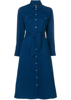 A.P.C. denim shirt dress - Blue