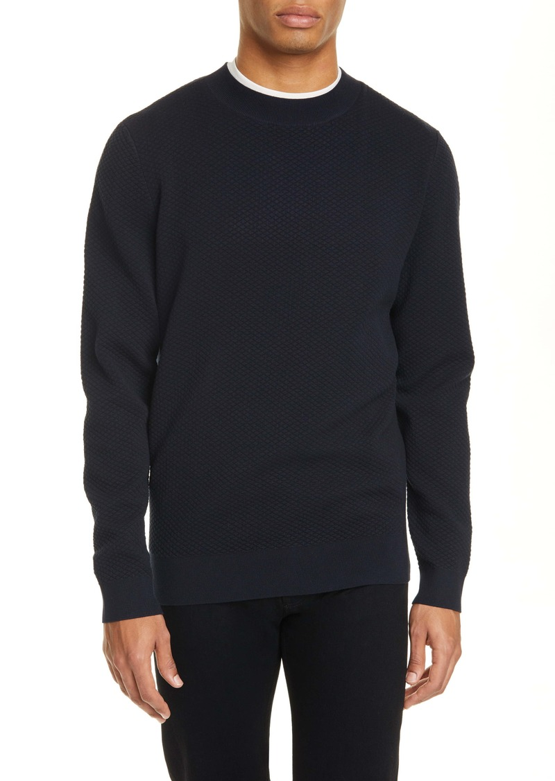 A.P.C. Diamond Matelassé Sweater
