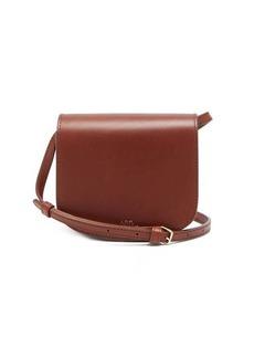 A.P.C. Dina mini smooth-leather cross-body bag
