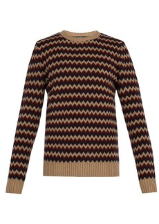 A.P.C. Directeur jacquard merino-wool sweater