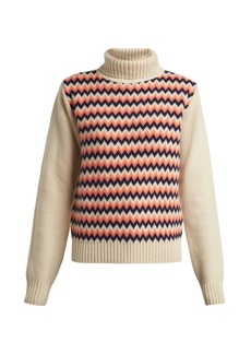 A.P.C. Directrice merino-wool roll-neck sweater