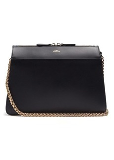 A.P.C. Ella leather shoulder bag