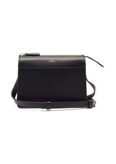A.P.C. Ella smooth-leather cross-body bag