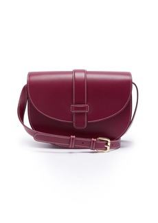 A.P.C. Eloise leather saddle bag