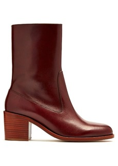 A.P.C. Eva leather ankle boots