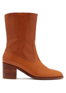 A.P.C. Eva leather boots