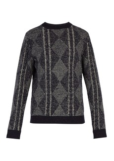 A.P.C. Exeter cable-knit sweater