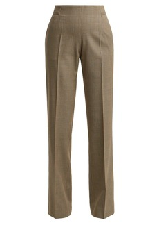 A.P.C. Farah Prince of Wales-check wool-blend trousers