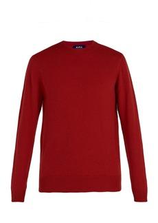 A.P.C. Felix wool-blend crew-neck sweater