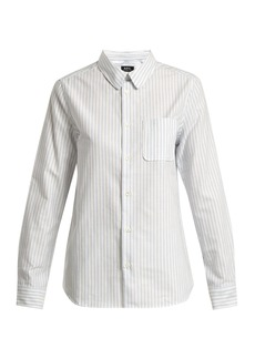A.P.C. Femme oxford-cotton shirt
