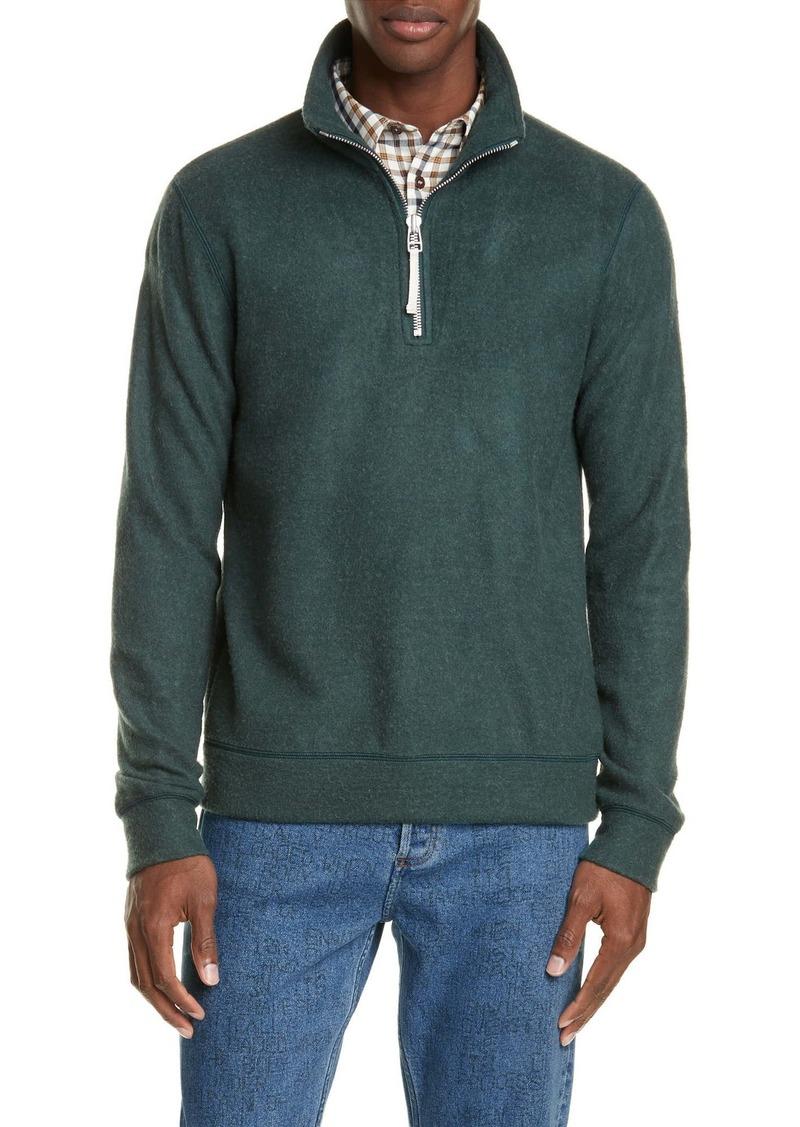 A.P.C. Feyo Quarter Zip Sweater