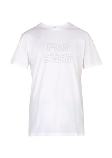 A.P.C. Forever-print T-shirt