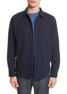 A.P.C. Fritz Wool Blend Shirt Jacket