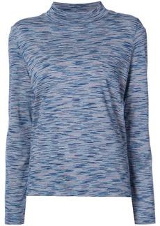 A.P.C. funnel-neck top - Blue