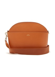 A.P.C. Gabrielle leather cross-body bag