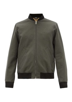 A.P.C. Gaston cotton-tweed bomber jacket