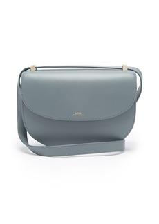 A.P.C. Genève cross-body leather bag