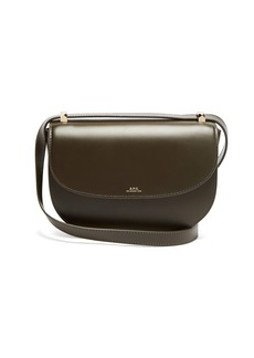 A.P.C. Genève leather cross-body bag