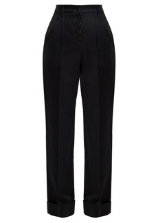 A.P.C. Georgianna high-waist cotton trousers