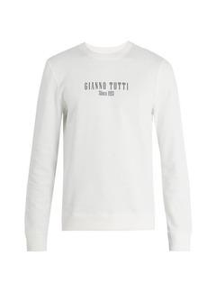 A.P.C. Gianno Tutti-print cotton-jersey sweatshirt
