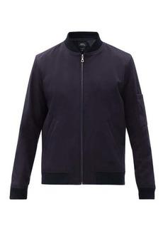 A.P.C. Gregoire cotton-shell bomber jacket