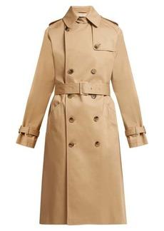 A.P.C. Greta cotton-twill trench coat