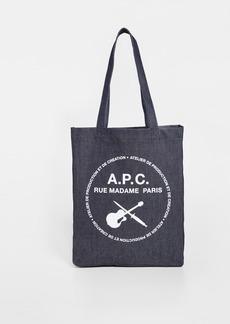 A.P.C. Guitare Poignard Tote