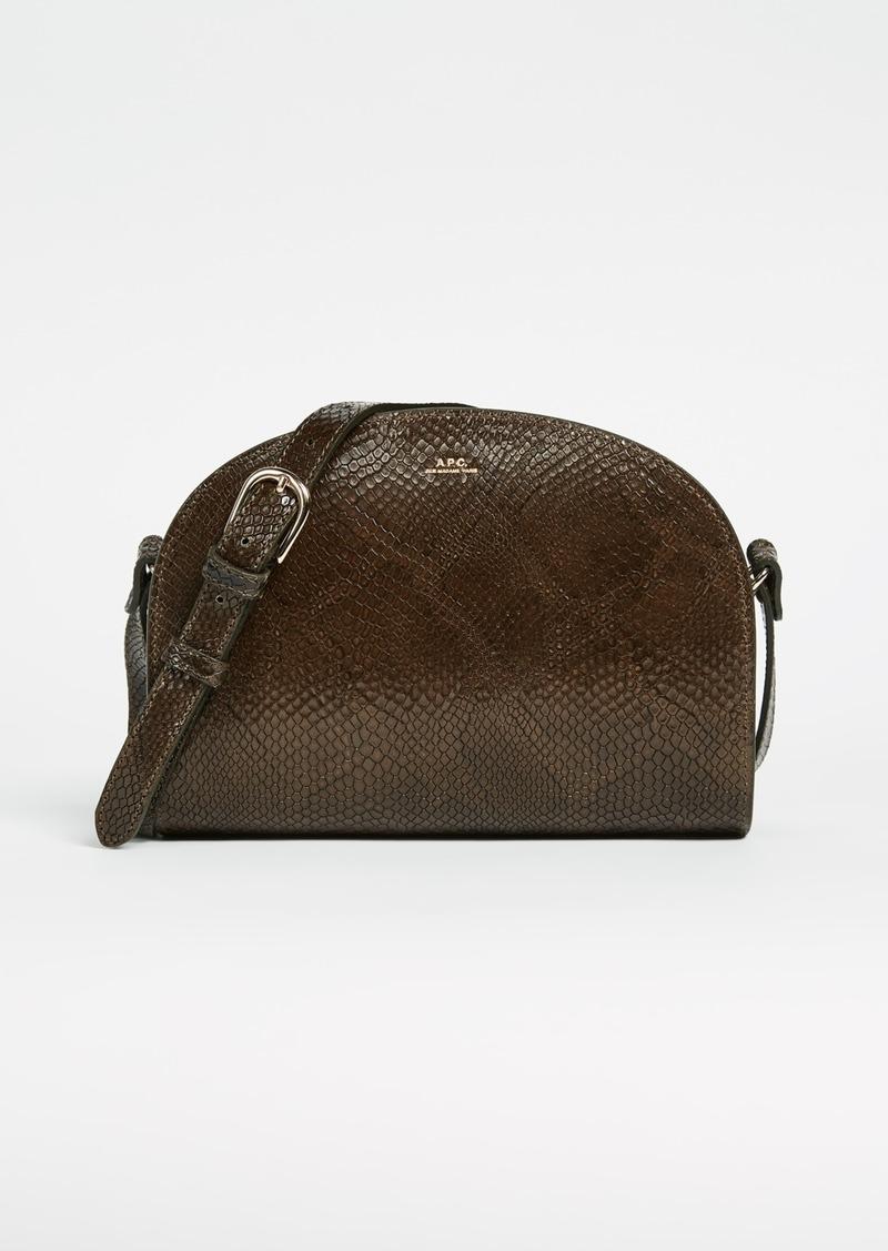 a p c a p c half moon bag handbags shop it to me. Black Bedroom Furniture Sets. Home Design Ideas