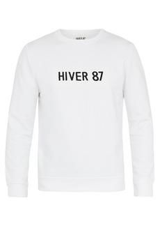 A.P.C. Hiver 87 cotton sweatshirt