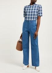 A.P.C. Ilna cotton-flannel shirt