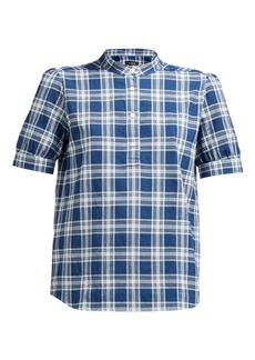 A.P.C. Ilna cotton-flannel shirt