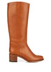 A.P.C. Iris knee-high leather boots