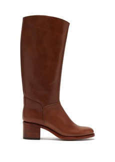 A.P.C. Iris leather riding boots