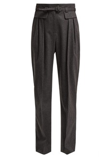A.P.C. Isa high-rise wool-blend trousers