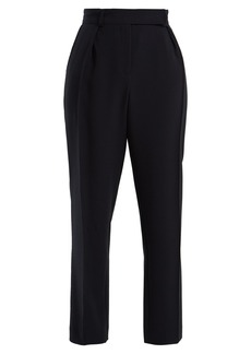 A.P.C. Isola high-rise straight-leg cady trousers