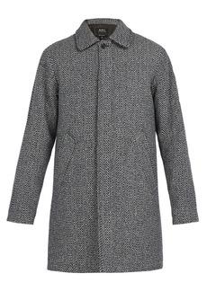 A.P.C. Ivan wool-blend coat
