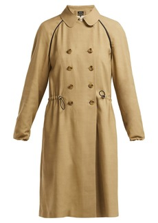 A.P.C. Jackie twill trench coat