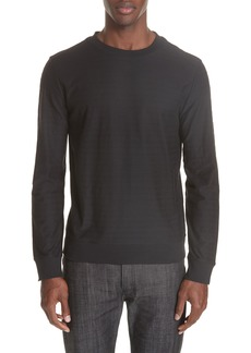 A.P.C. Jacquard Stripe Long Sleeve T-Shirt