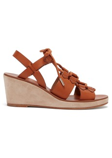 A.P.C. Jenny slingback wedge sandals