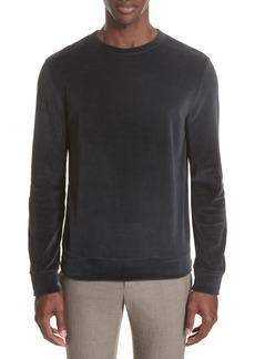 A.P.C. Jerome Velour Sweater