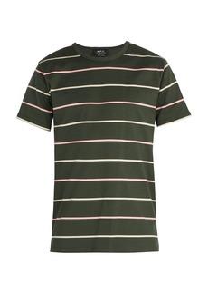 A.P.C. Jimmy wide-stripe T-shirt