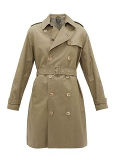 A.P.C. Josephine double-breasted cotton trench coat